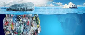 plástico del mar