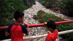 residuos plasticos en el mar